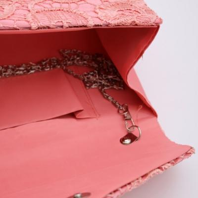 Socialite Floral Lace Evening Club Envelope Clutch Bag stylesimo.com