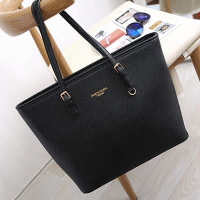 Women S Zipper Pu Leather Tote Shoulder Bag