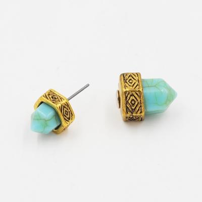 Women's Imitation Stone Stud Earrings