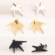 Women's Pack of 3 Triangle Stud Earrings