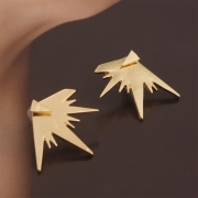 Women's Pack of 3 Triangle Stud Earrings
