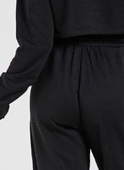 Women's Solid Drawstring Waist Sweat Pants