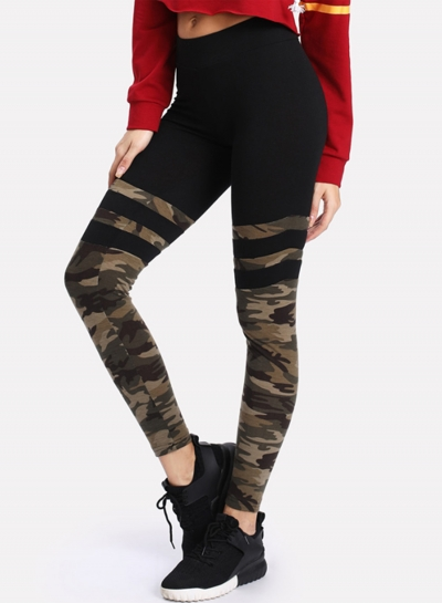 Fashion Camp Printed Yoga Leggings