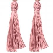 Fashion Diamonds Decoration Dangle Flower Earrings