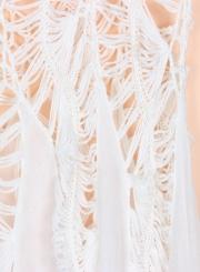 Fashion Sleeveless Lace Bikini Cover up Tank