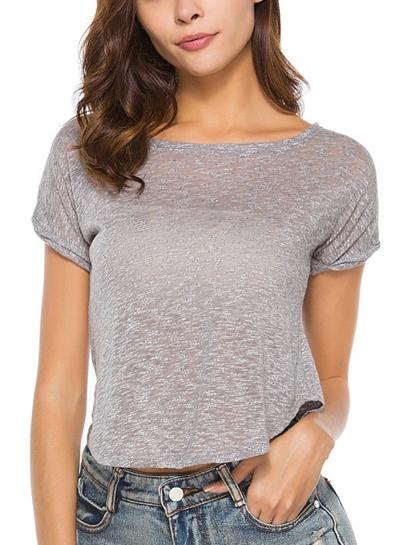 Fashion Short Sleeve Tee Shirt