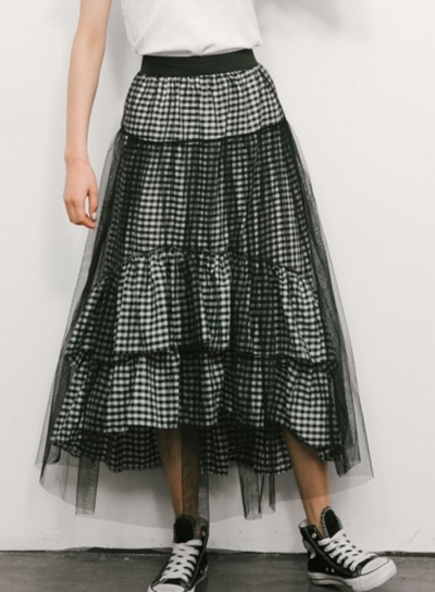 Fashion Mesh Skirt