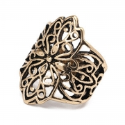 4 Pieces Alloy BOHO Finger Rings Multiple Sets Of Rings