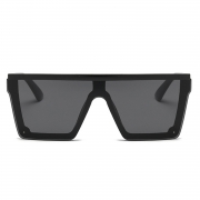 Fashion Multi-color Conjoined lenses Square Outdoor Sunglasses
