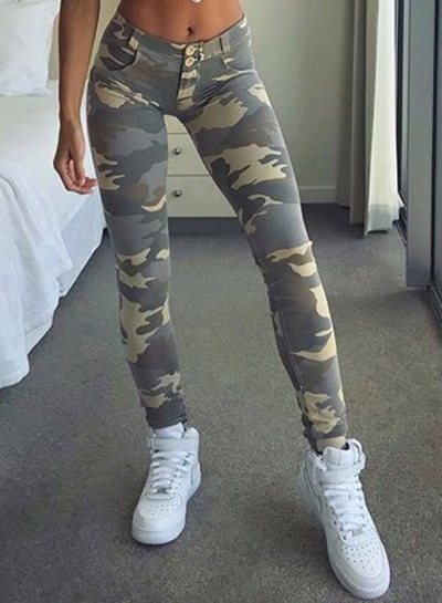 Camouflage Printed Legging for Women