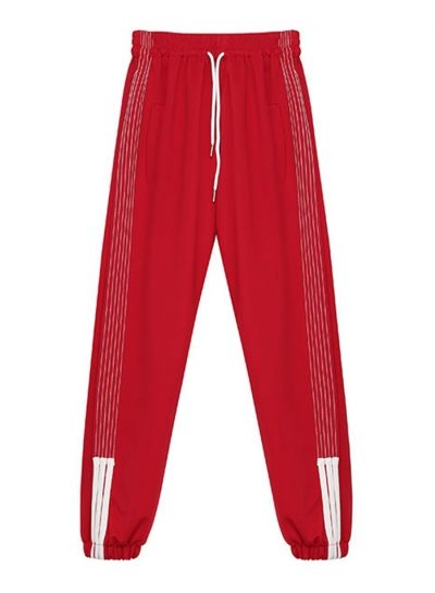 Casual High Waist Loose Sport Pants