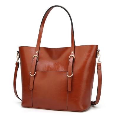 Solid Concise Vintage Handle Satchel Shoulder Bag Cross-body Bag