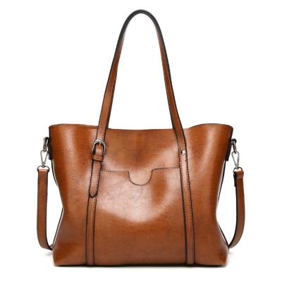 Solid Handle Satchel Handbag Women Shoulder Bag Messenger Tote Bag