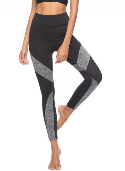 Sexy Slim Spicing Leopard Pattern High Waist Yoga Leggings