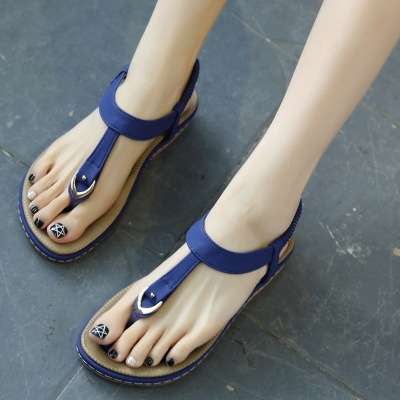 Casual Fashion Thong Flat Pumps Sandals