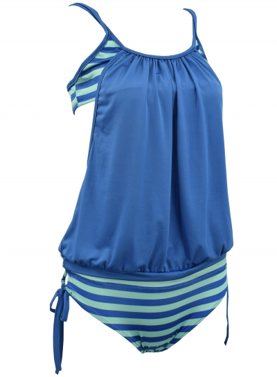 women-s-summer-color-block-striped-two-piece-swimsuit