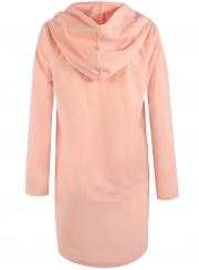 Women's Hooded Long Sleeve Loose Fit Design Woolen Fashion Hooded Coat