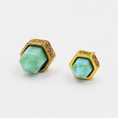 Women's Imitation Stone Stud Earrings stylesimo.com