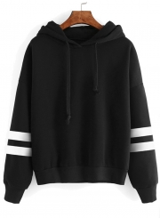 Women's Casual Long Sleeve Solid Color Hoodies