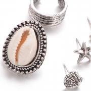 Fashion Vintage Shell Design Sets Earrings