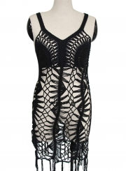 Hollow out Crochet Bikini Cover up