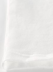 One Shoulder Long Sleeve Crop Top