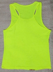 Fashion Round Neck Sleeveless Printed Active Top