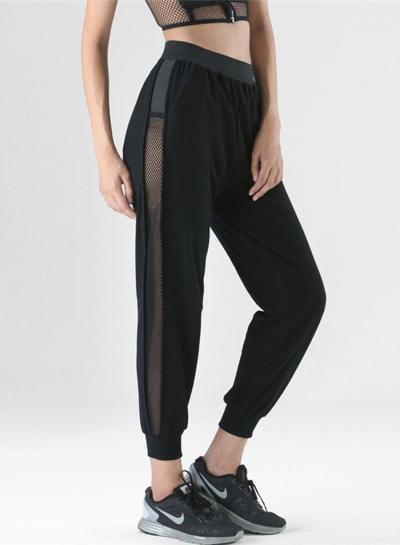 Fashion Casual Mesh Loose Fit Sports Pants Jogging Pants