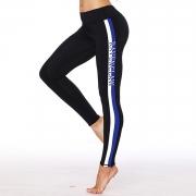 Fashion Striped Skinny Fit Ankle Yoga Leggings