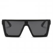 Fashion Multi-color Conjoined lenses Square Outdoor Sunglasses