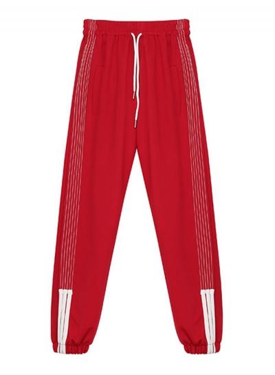 Casual High Waist Loose Sport Pants