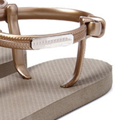 Fashion Summer Beach Breathable Skidproof Thong Flat Sandals stylesimo.com
